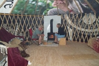 living in yurt